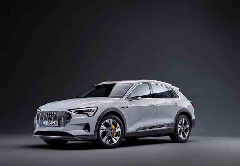 Audi e-Tron 50 Quattro.