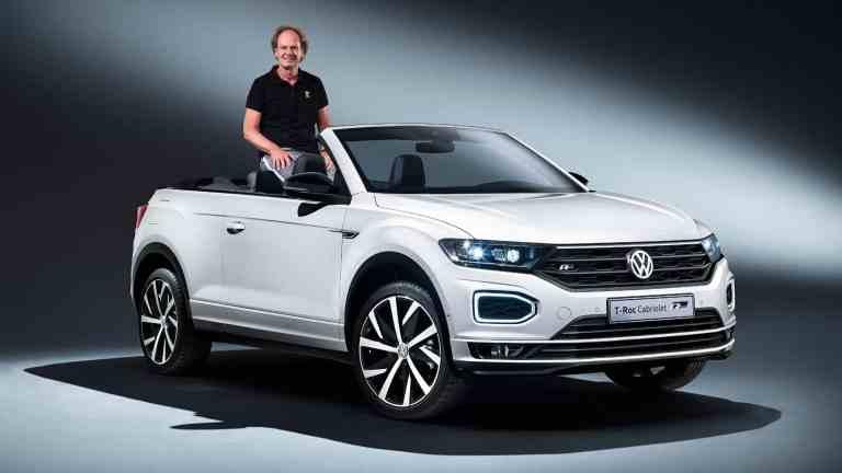 VW will mit dem T-Roc den Cabriomarkt rocken
