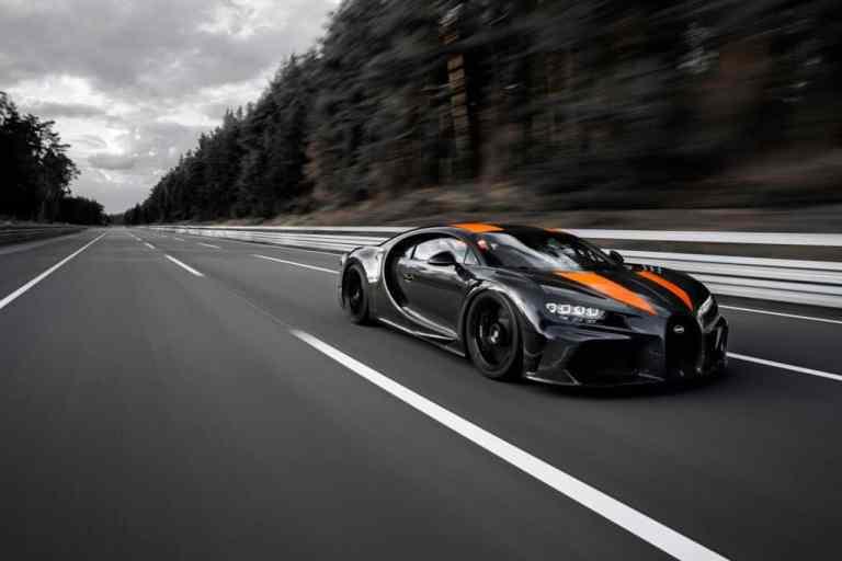Bugatti Chiron: Mit Tempo 490 zum Weltrekord