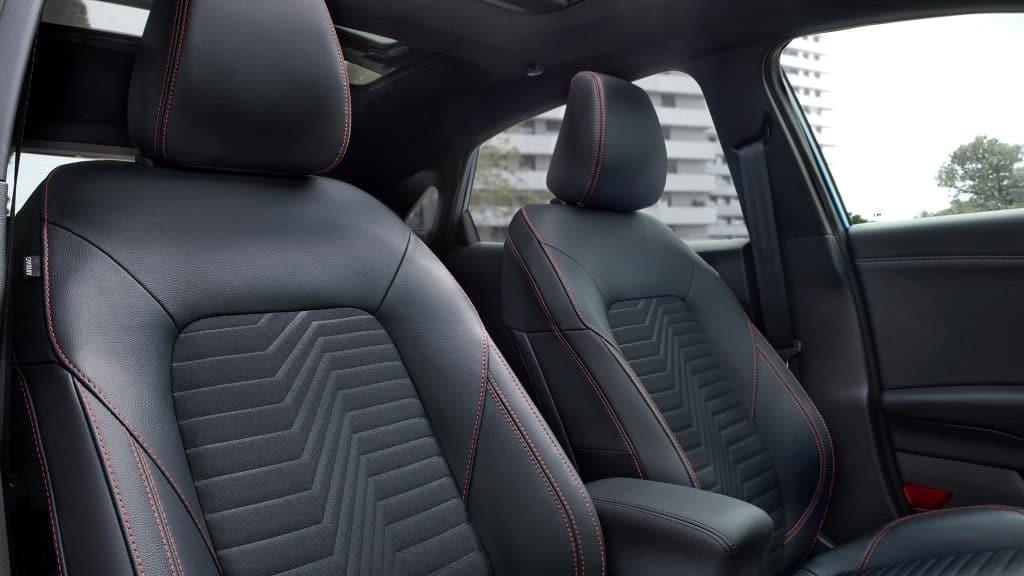 Ford Puma 2019, Sitze