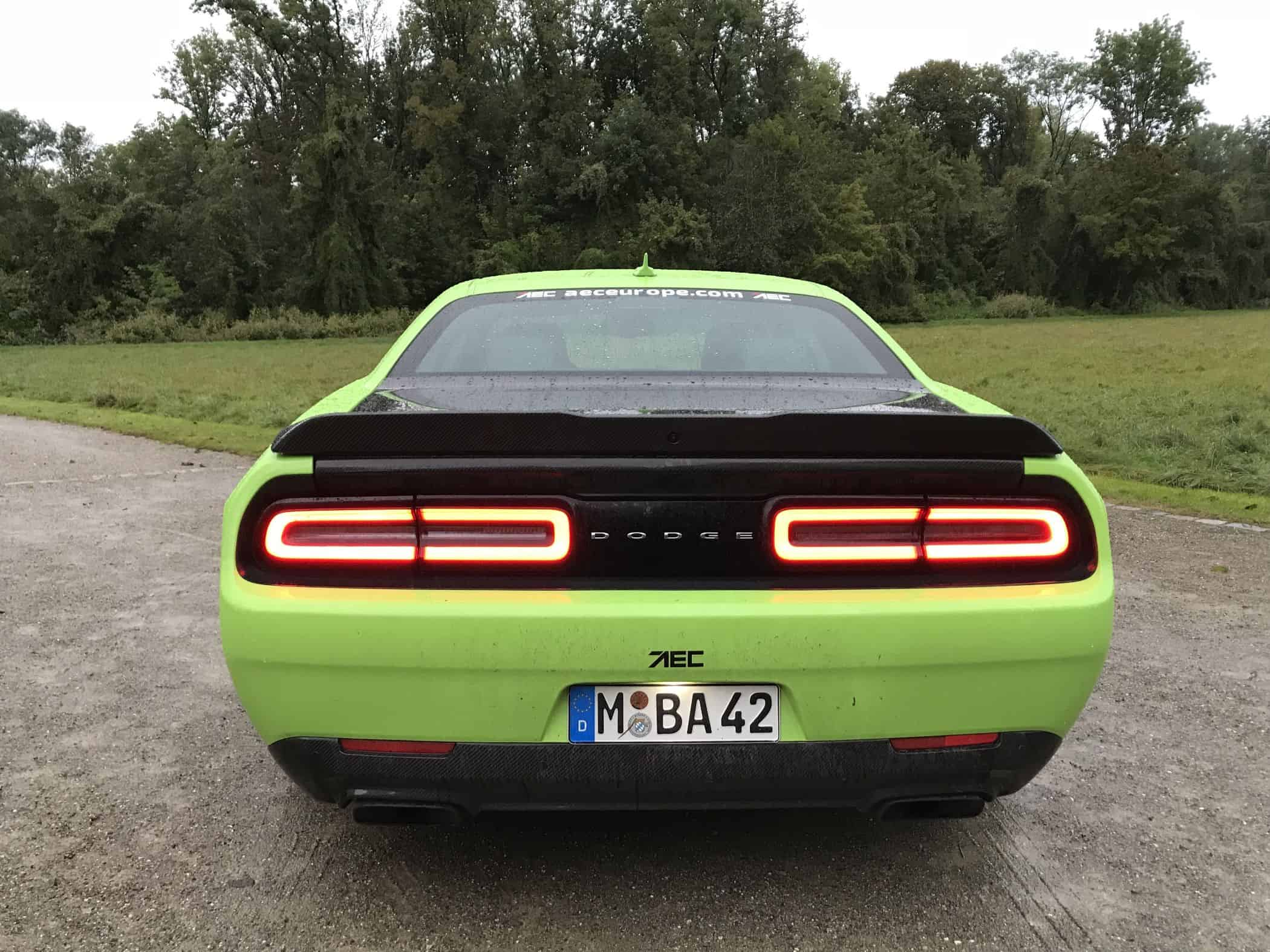 2020 AEC Dodge Challenger SRT Hellcat XR (888 PS)
