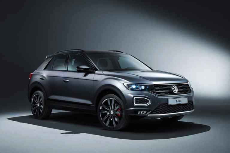 """VW T-Roc mit Ausstattungspaket """"Black Style""""."""