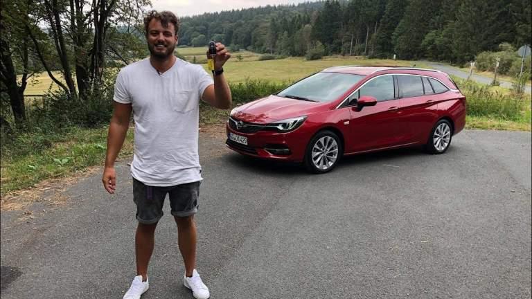 Opel Astra K Sports Tourer, Jan Weizencker