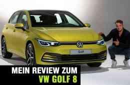 Der neue VW Golf 8 - Vorstellung, Jan Weizenecker