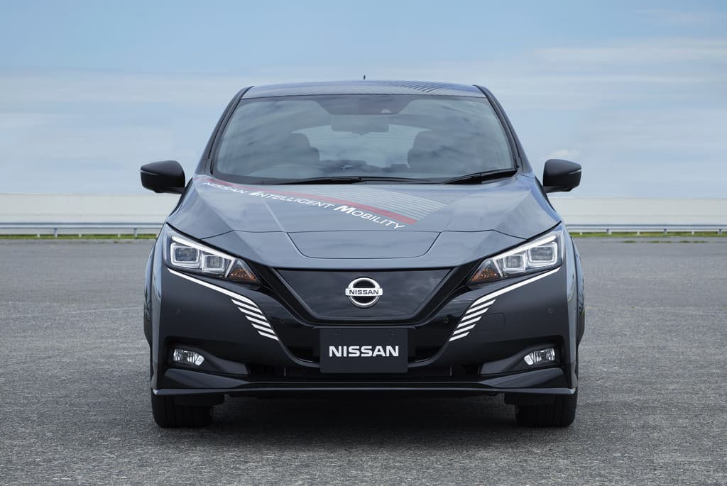 Prototyp auf Basis des Nissan Leaf e+.