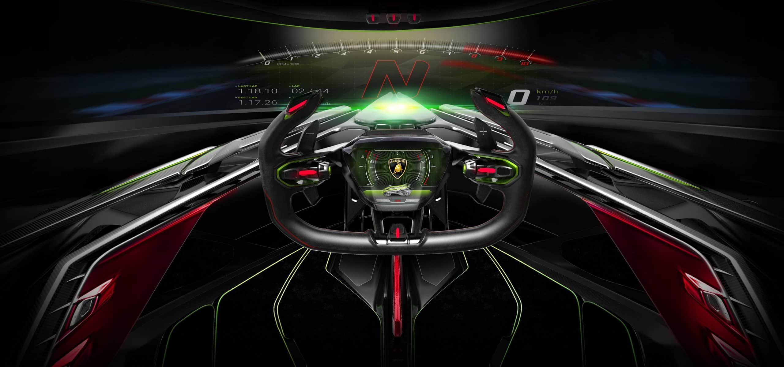 Lamborghini Lambo V12 Vision Gran Turismo