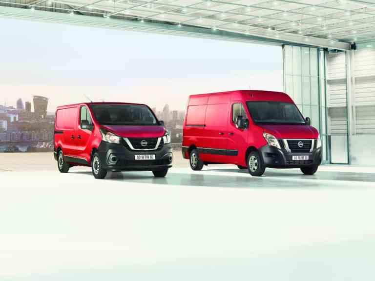 Nissan NV 300 und NV 400.