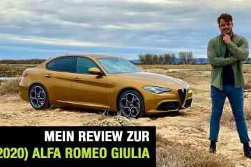 """Alfa Romeo Giulia """"Veloce"""" (280 PS) - Fahrbericht im Video"""