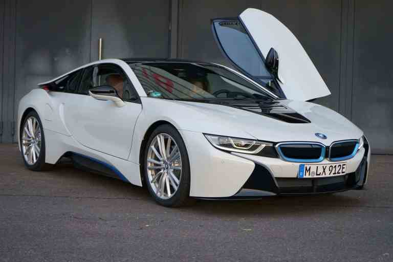 Neues BMW i8 Coupé