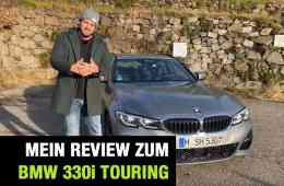 """BMW 330i Touring (258 PS) """"G21"""" - Fahrbericht im Video, Jan Weizenecker"""