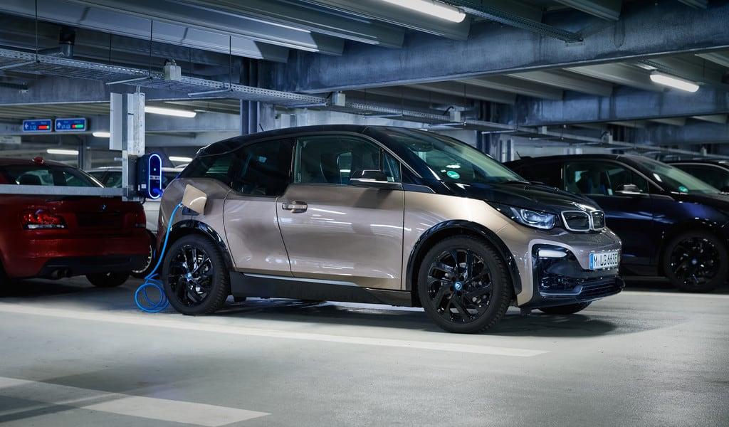 E-Ladestation von BMW.