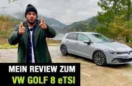 """2020 VW Golf 8 """"Style"""" 1.5 eTSI (150 PS) , Jan Weizenecker"""