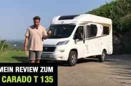 Carado T 135 (120 PS) - Wohnmobil Reise-Test im Video