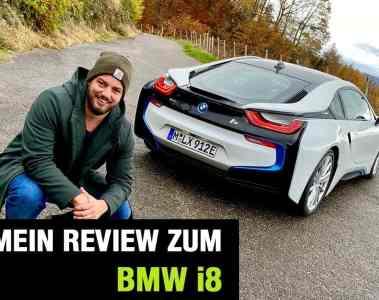 Neues BMW i8 Coupé (374 PS) - Plug-in-Hybrid Sportler im Video-Fahrbericht