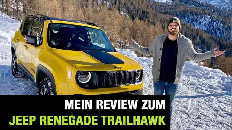 Jeep Renegade Trailhawk, Jan Weizenecker