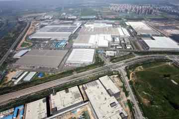 Werk von BBAC (Beijing Benz Automotive Co.) in Peking.