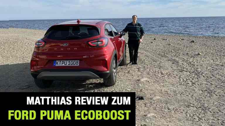 Ford Puma Ecoboost, Matthias Gill