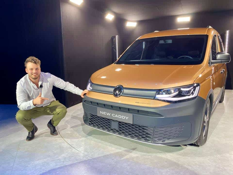 Der VW Caddy 5 feierte Weltpremiere in Düsseldorf