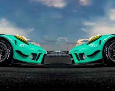 Falken geht mit zwei baugleichen Porsche an den Start