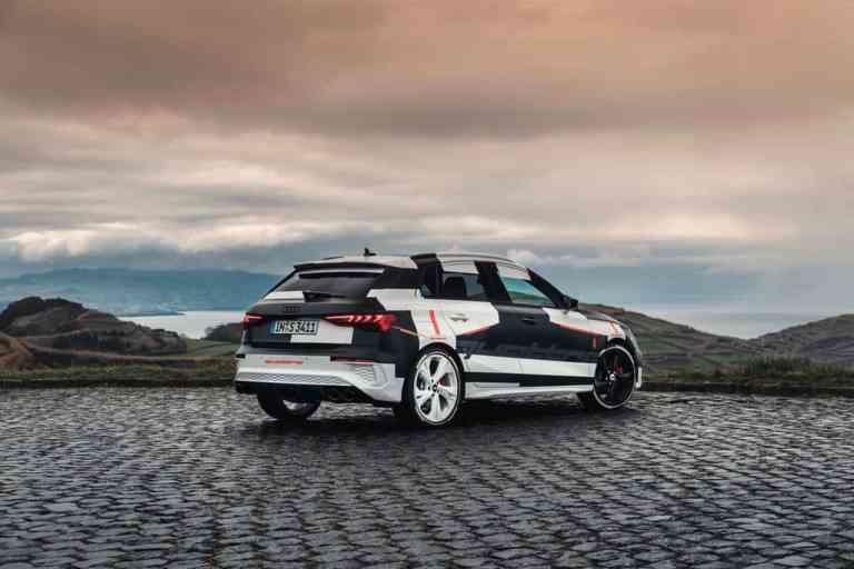 Audi A3 Sportback getarnt