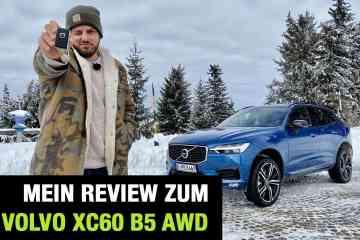 Volvo XC60 B5 Mild-Hybrid Benzin AWD (250 PS), Jan Weizenecker