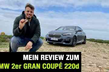 "BMW 2er Gran Coupé 220d ""M Sport"", Jan Weizenecker"