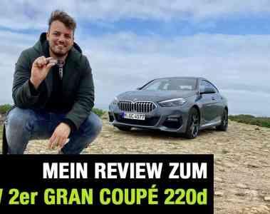 """BMW 2er Gran Coupé 220d """"M Sport"""", Jan Weizenecker"""