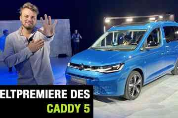 2020 VW Caddy 5 - Weltpremiere, Jan Weizenecker