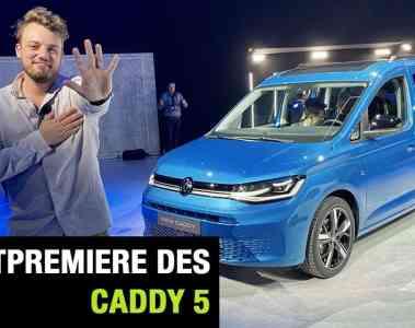 2020 VW Caddy 5 - Weltpremiere, Jan Weizenecker
