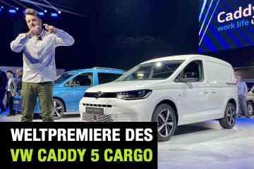 Neuer VW Caddy 5 Cargo, Jan Weizenecker