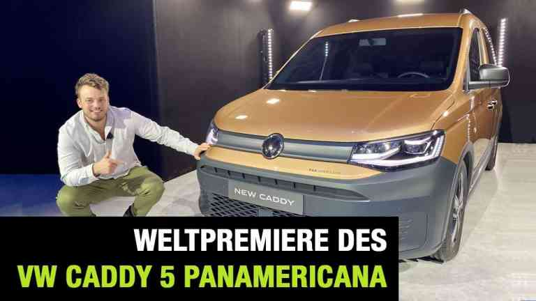 "2020 VW Caddy 5 ""PanAmericana"" - Weltpremiere im Video, Jan Weizenecker"