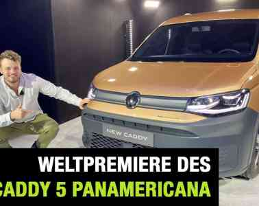 "2020 VW Caddy 5 ""PanAmericana"" - Weltpremiere im Video, Jan Weizenecker"