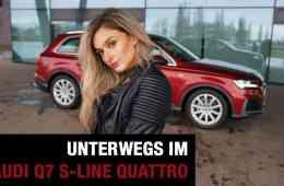 2020 Audi Q7 55 TFSI S-Line quattro Hybrid, Nina Weizenecker