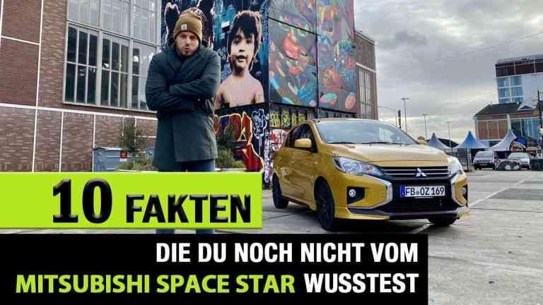 10 Fakten zum neuen Mitsubishi Space Star, Jan Weizenecker