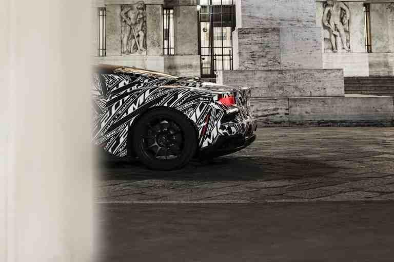 Maserati MC20: Prototyp auf nächtlicher Tour