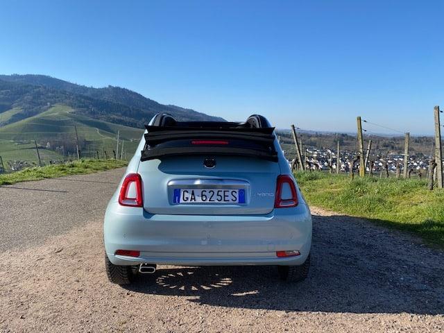 Neues Fiat 500C Hybrid Cabrio (70 PS)