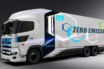 Hino Profia Heavy-Duty-Fuel-Cell-Truck.