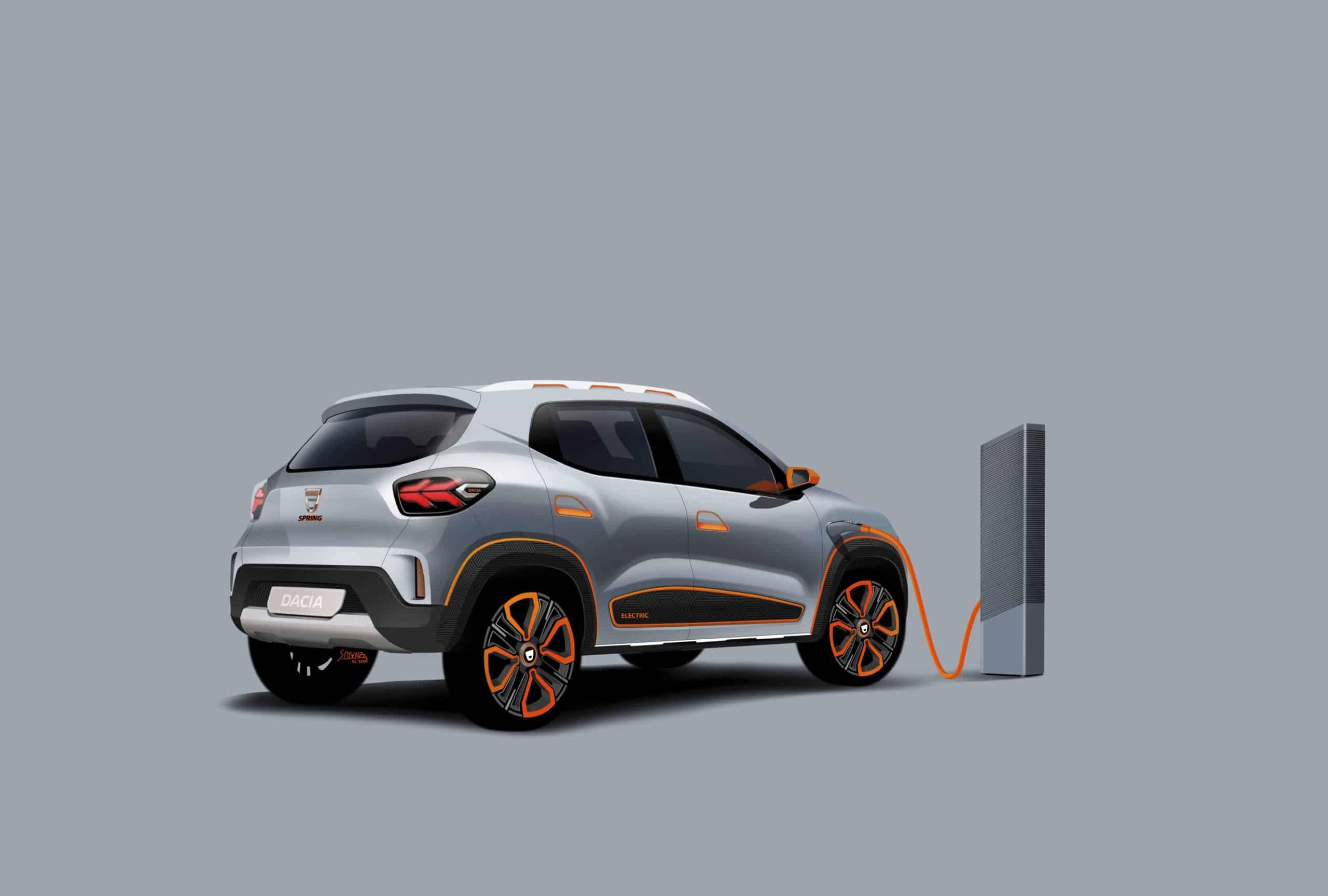 Dacia's erstes Elektroauto