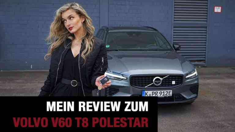Volvo V60 T8 Polestar (405 PS) - Review im Video