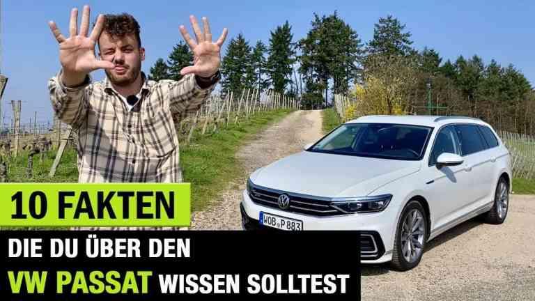 """10 Fakten über den VW Passat """"B8"""" Facelift 2020"""