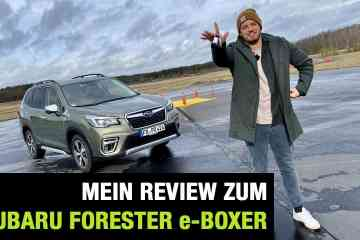 Subaru Forester 2.0ie e-Boxer, Jan Weizenecker