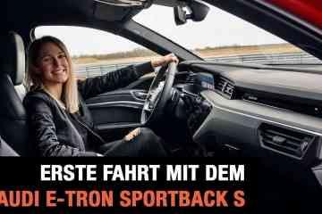 Erste Fahrt mit dem Audi e-tron Sportback S (2020), Jessicarmaniac