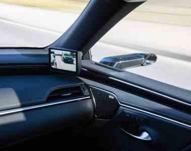 Lexus mit digitalen Außenspiegeln