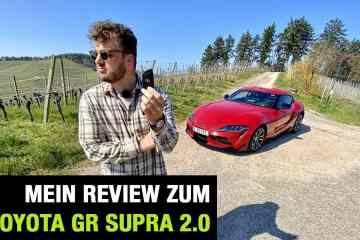 Neues Toyota GR Supra 2.0 Coupe (257 PS) - Fahrbericht im Video, Jan Weizenecker