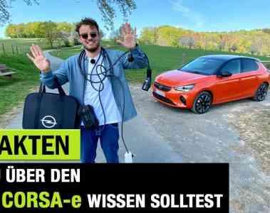 10 Fakten, die Du über den Opel Corsa-e (2020) wissen solltest!, Jan Weizenecker