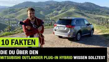 2020 Mitsubishi Outlander Plug In Hybrid Facelift Top 223 Ps Phev Fahrbericht Review Test Der Autotester De