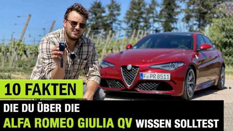 Alfa Romeo Giulia Quadrifoglio, Jan Weizenecker