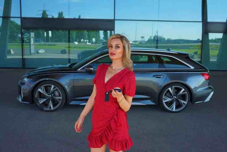 Audi RS6 Avant, Nina CarMaria Weizenecker