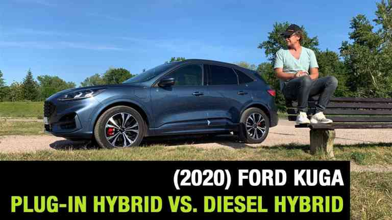 Ford Kuga (2020) - Plugin Hybrid vs. Diesel Hybrid?, Dr Friedbert Weizenecker