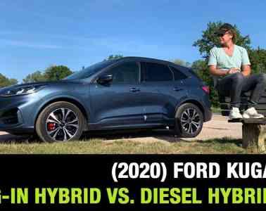 Ford Kuga (2020) - Plugin Hybrid vs. Diesel Hybrid?, Dr Friedbert Weizenecker